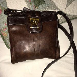 Vintage Tignanello Leather Purse- Ex. Cond.